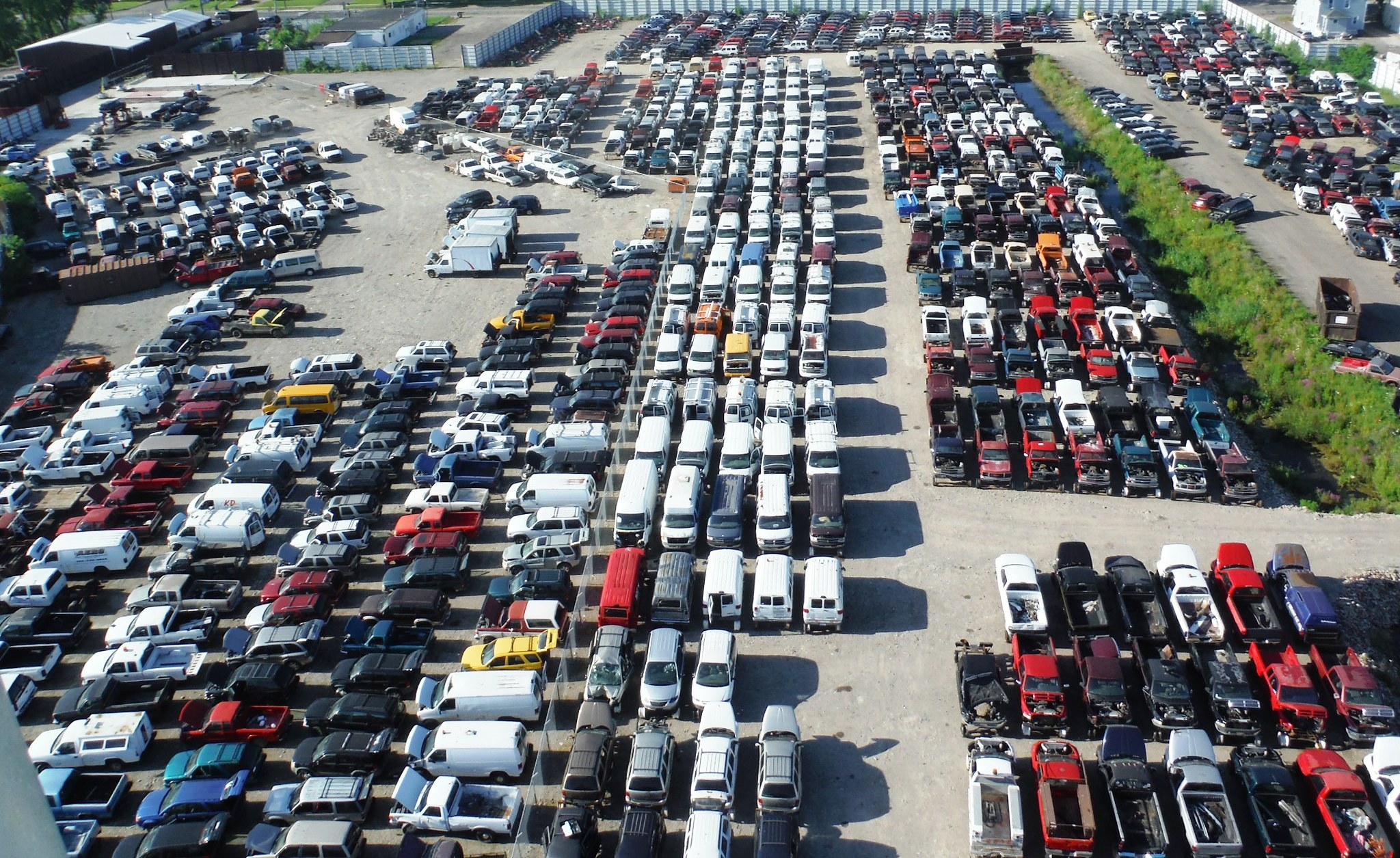 Salvage Yard, Used Auto Parts Store, Used Vehicles ...